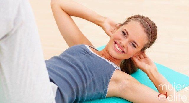 Tabla de ejercicios para un abdomen plano y sexy