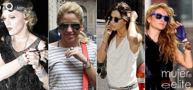 Los talismanes y amuletos de Madonna, Shakira, Sara Carbonero y Paulina Rubio