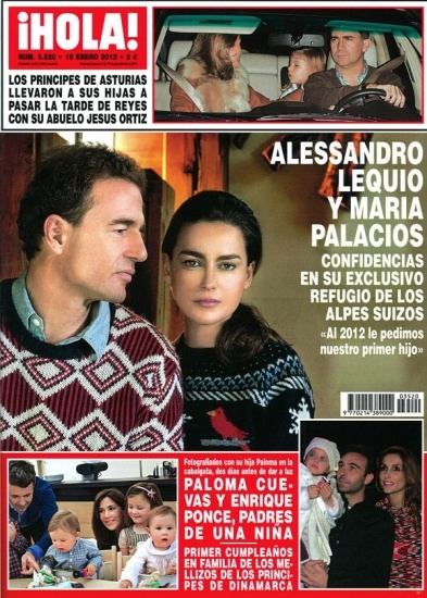Alessandro Lequio y su esposa Mar�a Palacios se confiesan en �HOLA!
