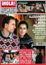 Alessandro Lequio y su esposa María Palacios se confiesan en ¡HOLA!
