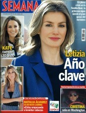 Doña Letizia Ortiz, portada de Semana