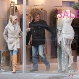 Goldie Hawn y Kurt Russell de rebajas en Londres