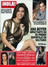 Ana Boyer en la portada de ¡HOLA!