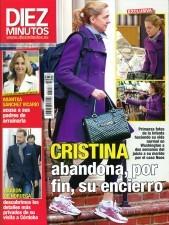 La infanta Cristina, portada de Diez Minutos