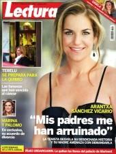 Arantxa Sánchez Vicario, portada de Lecturas