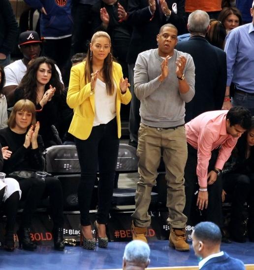 Beyonc� y Jay-Z, una pareja de guapa y feo