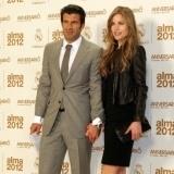 Luis Figo y su bell�sima esposa Helen Swedin, ejemplo de pareja feliz guapa con feo