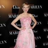 Michelle Williams, toda una princesa de cuento con este vestido de noche en rosa pastel
