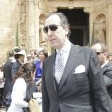 Jaime de Marichalar en la boda de Sabina Flux� y Alfonso Fierro