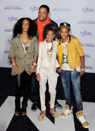 Will Smith, Jada Pinkett y Jaden: familia rica y feliz