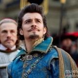 Orlando Bloom: pirata o mosquetero, pero mal besador