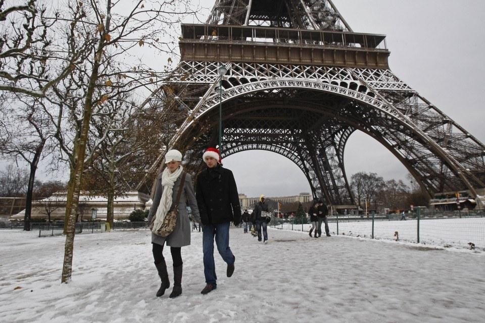 Par�s, una ciudad perfecta con fr�o o calor