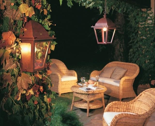 La iluminacin de exteriores en verano ni mucho ni poco - Iluminacion de terrazas exteriores ...