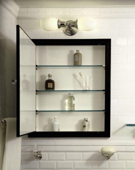 Armario de obra con espejo ideal para baos pequeos - Armario con espejo para bano ...