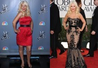 Christina Aguilera marca culete en el photocall