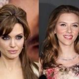 Angelina Jolie y Scarlett Johansson, fiel a sus labios
