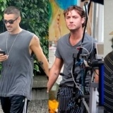 Orlando Bloom, Colin Farrell, Jude Law y Johnny Depp lucen tatuajes