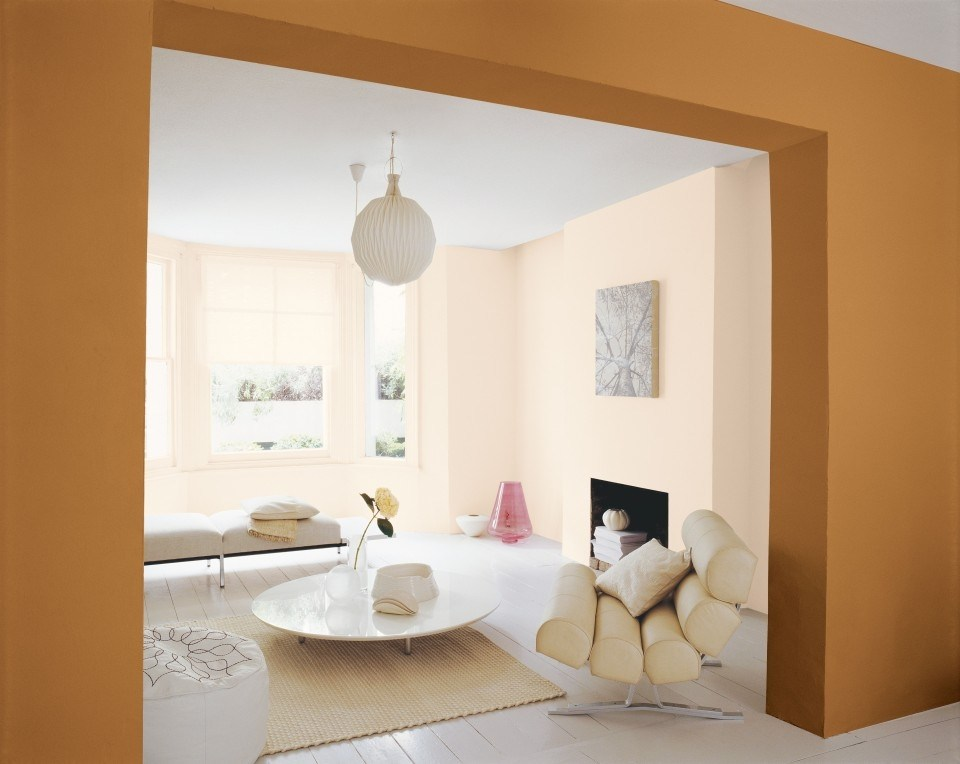 Utiliza diferentes tonos de un mismo color para pintar las for Colores para paredes