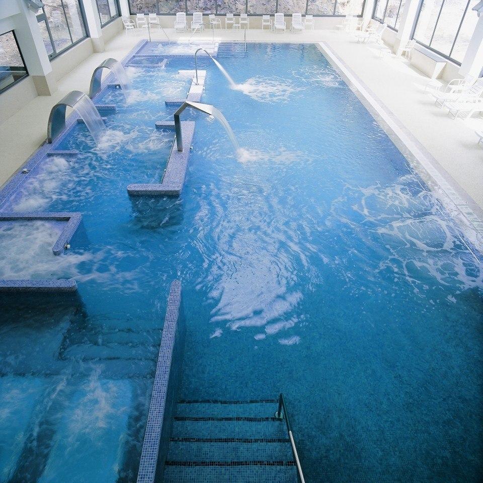 Balneario Baño Grande En Mixquiahuala:El Balneario Guitiriz & Golf Club se combinan los circuitos termales