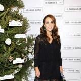 Paula Echevarr�a con vestido negro