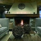 Lounge de Rafaelhoteles by la Pleta en Baqueira Beret, Pirineo Catal�n