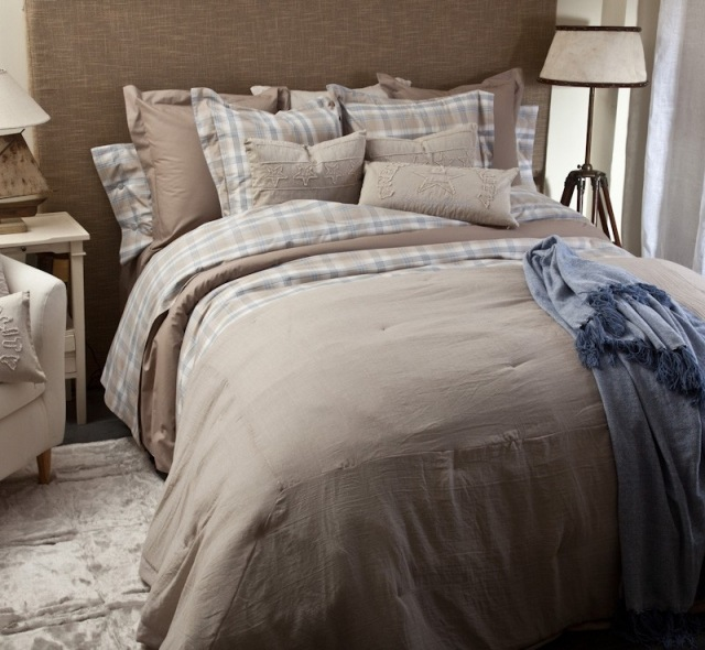 Tonos ocres para la ropa de cama de primavera 2013 fotos - Ropa de cama textura ...