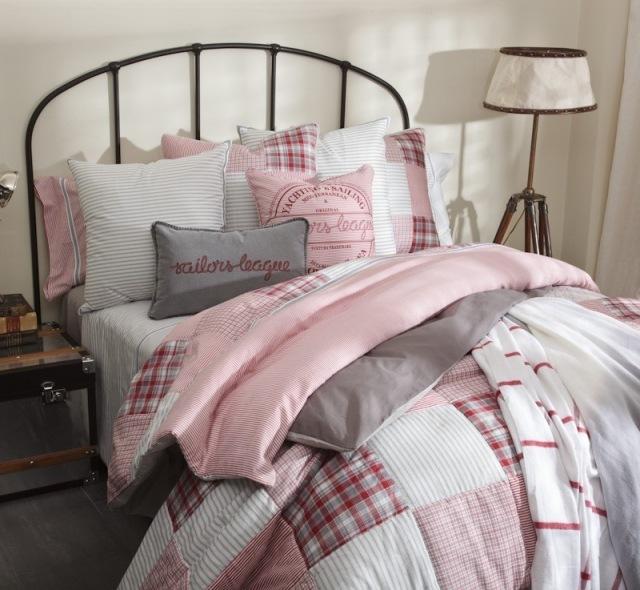 Ropa de cuadros para vestir tu hogar en la prxima - Cabecero de cama casero ...