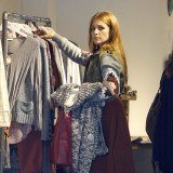 Paula Echevarr�a es fan de la ropa low cost