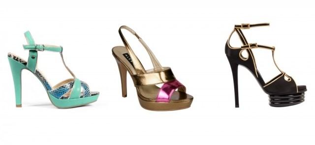 Tendencias en moda calzado de tac�n y con plataforma para primavera-verano 2013