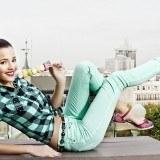 Malena Costa se apunta al calzado de tac�n y con plataformas para la primavera-verano 2013