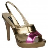 Zapatos de sal�n en acabado metalizado como tendencia en moda calzado primavera-verano 2013