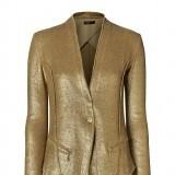 Chaqueta en acabado glitter como tendencia look metalizado en la moda primavera verano 2013