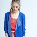 Blazer en color azul para tu look de primavera-verano