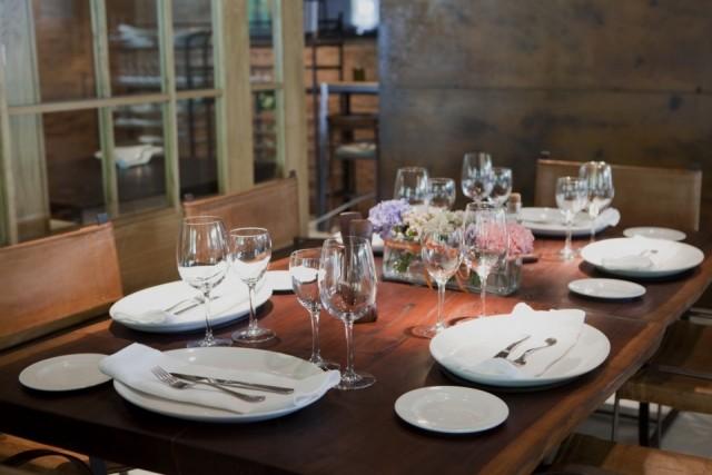 La decoracin de la mesa el da de la madre fotos for Restaurant salle a manger tunis