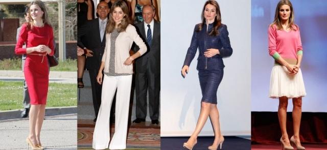 La princesa Letizia tiene un estilo elegante y chic, perfecto para cada ocasi�n