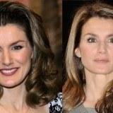 El antes y despu�s de la princesa Letizia