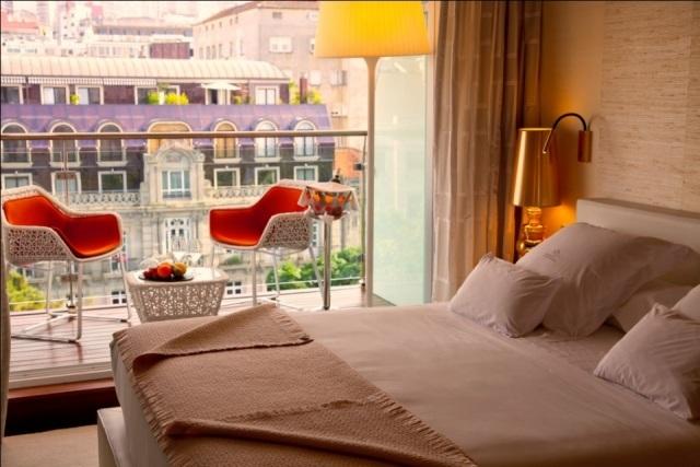 Habitacin del hotel nagari en vigo fotos mujerdeelite for Hoteles en vigo con piscina