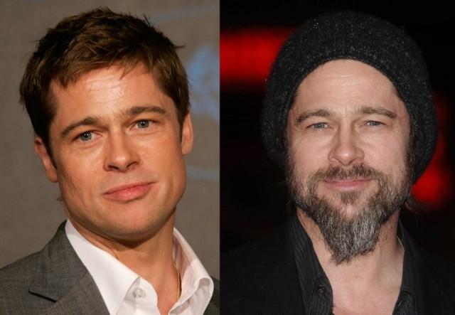 Brad Pitt pierde atractivo con barba