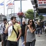 Sara Carbonero e Iker Casillas con looks c�modos en San Francisco