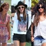 Rihanna, Paula Echevarr�a, Miranda Kerr, Sara Carbonero y Alessandra Ambrosio saben c�mo ir al campo con estilo