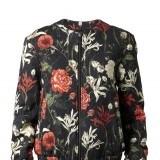 Las flores serán uno de los estampados claves para este otoño 2013
