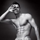 Cristiano Ronaldo y sus marcados abdominales