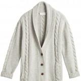 Las chaquetas de punto son un must en la temporada del fr�o