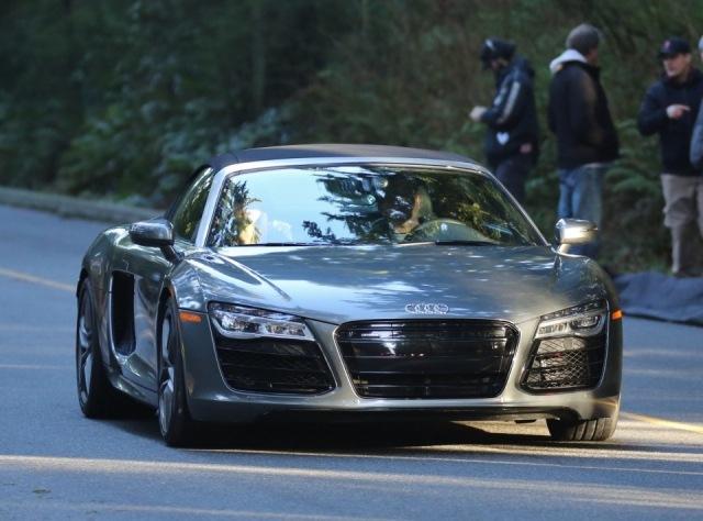 Jamie Dornan En La Piel De Christian Grey Conduciendo Su Audi R8 Spider En Quot 50 Sombras De Grey