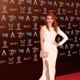 Cristina Casta�o fue otras de las invitadas que lucieron radiantes en los premios Goya 2014