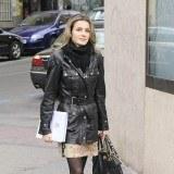 La princesa Letizia tambi�n apuesta por las minifaldas para ir a trabajar