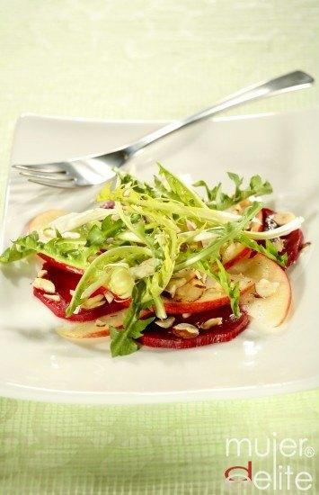 Receta de ensalada de manzana y nueces ¡anticelulitis!