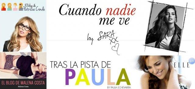 Blog de Paula Echevarr�a, Sara Carbonero, Pilar Rubio...