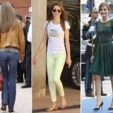 El estilismo de Letizia Ortiz es casi siempre impecable y suele acertar con su vestuario