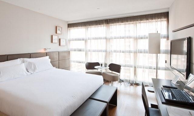 Los hoteles de lujo 5 estrellas de espaa con mejor relacin for Precio habitacion hotel